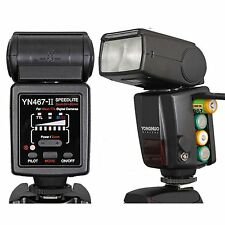 Yongnuo YN-467 II I-TTL Flash Speedlite for Nikon D7000 D5100 D5000 D3100 D3000