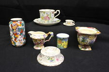 Vintage 9 Pc Mix Lot Royal Winton/Albert/Crown/Ducal/Foley CHINTZ China, England