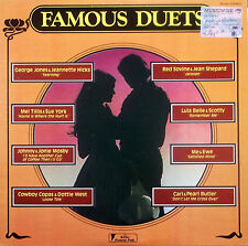 FAMOUS DUETS LP Various US Power Pak PO 307 1977 Excellent