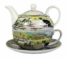 Collie e Pecora Fine China Pomeriggio Tea For One Set Teiera