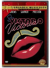 DVD VICTOR/VICTORIA - JULIE ANDREWS/JAMES GARNER  -DEUTSCH-  #NEU#