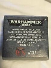 Bombardment Dice Cube-Sealed-125 Dice-Adeptus Mechanicus-Cult-OOP-Warhammer 40k