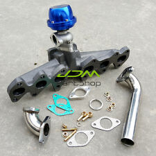 for Lexus Toyota 2JZ-GTE Cast Turbo Manifold T4 flange+38mm wastegate+pipe elbow