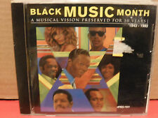Black Music Month PROMO CD 1942-1992 Adeva TRACIE SPENCER Marc NElson MC HAMMER