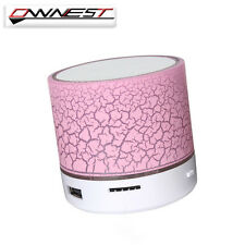 Bluetooth Wireless Mini Portable Speaker Bass for MP3 iPhone iPad + LED Light US
