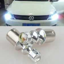 2x Error free White LED daytime Light Cree Projector For vw jetta mk6 2010-2014
