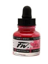 Daler Rowney FW Artists Acrylic Ink 29.5 ml Bottle - 50 Colours Available
