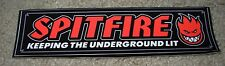 "SPITFIRE UNDERGROUND Logo Skate Sticker 7.25"" great 4 skateboards helmets decal"