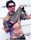 BAM MARGERA HOT SEXY SIGNED 8X10 PHOTO AUTHENTIC AUTOGRAPH JACKASS COA