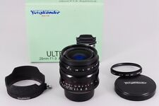 【NEAR MINT】 Voigtlander ULTRON 28mm F/1.9  Aspherical Leica L from japan #198