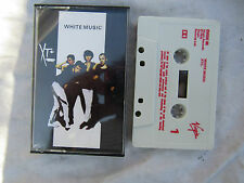 CASSETTE XTC WHITE MUSIC virgin / ovedc 60