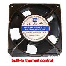 Best Electronics BT12038B1M AC115V 120MM X 38MM AC FAN THERMAL CONTROL