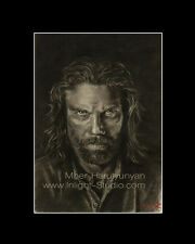 Hell on Wheels Anson Mount actor drawing from artist art image picture poster