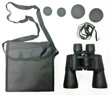 ZCF 10 x 50 LIGHT WEIGHT BINOCULARS HIGH MAGNIFICATION POWER FULL SIZE 10X50MM &