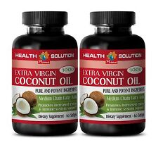Coconut Oil Fiber Pill - EXTRA VIRGIN COCONUT OIL 3000MG - Strengthens Bones  2B