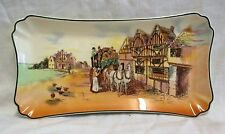 """11"""".1953-55 Royal Doulton Old English Coaching Scenes Sandwich Plate/Tray D6393"""