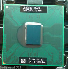 1PC Intel Core Duo T2600 2.16 GHz Dual-Core (BX80539T2600) SL8VN Process Test OK
