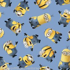 FABRIC Quilting Treasures ~ DESPICABLE ME - 1 IN A MINION ~ (23990 B) by 1/2 yd