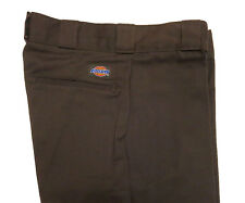 DICKIES 874 Flat Front BROWN Scotchgard WORK PANT NWT 28 29x32 FREE SHIPPING USA