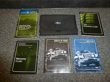 2011 Ford F150 Pickup Truck Owner Manual XL STX XLT FX4 King Ranch Lariat