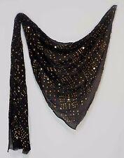 Black bandani Scraf /Dupatta for Navratri/ Ocassion Wear/ Belly Dancer
