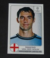 # 190 VAN DER GOUW MANCHESTER UNITED FOOTBALL CHAMPIONS LEAGUE 2001-2002