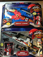 Power Rangers operation overdrive Defender & Lance MISB new sealed rare