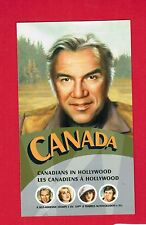 2006 CANADIANS IN HOLLYWOOD  CANADA STAMPS  BOOKLET  2154d  BK328  L950