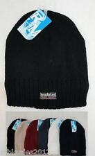 Wholesale Lot 48 Thermal Insulated Solid Color Winter Knit Beanie Hats