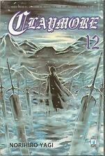 MANGA - Claymore N° 12 - Point Break 95 - Star Comics - USATO Buono