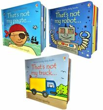 Usborne Thats Not My Boys Pack 3 Books Set Collection [Board book] by Fiona Wat