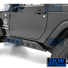 07-17 Jeep JK Wrangler 2 Door Rock Crawler Side body Slider Armor Rocker Guards
