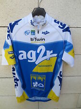 Maillot cycliste AG2R B'TWIN Racing UCI Pro Tour France 2007 cycling shirt L