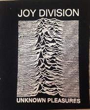 JOY DIVISION Unknown Pleasures PUNK PATCH  Silkscreen Sew On