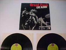 OLD Rock Roll Music Record Album ~GRAND FUNK LIVE~VINTAGE Vinyl Disc LP SET 1970
