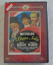 DVD FILM LE CIRQUE EN FOLIE W.C. FIELDS VO ANGLAIS ST FRANCAIS NEUF SOUS CELLO