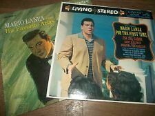 Mario Lanza His Favorite Arias For The Last Time LP x 2 EX (Zsa Gabor)