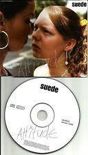 SUEDE Attitude EUROPE MADE PROMO Radio DJ CD Single USA Seller MINT 2003