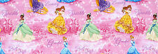 "7"" REMNANT  DISNEY PRINCESS ROYAL DEBUT  FABRIC PRINCESSES RAPUNZEL CINDERELLA"