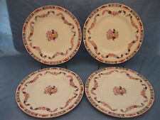 "4 Minton Bone China Plates ~ 'Minton Rose' ~ Fish / Salad Plates  8"" ~ Seconds"