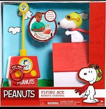 PEANUTS - SNOOPY FLYING ACE REMOTE CONTROL TOY - SLIGHT DAMAGES TO BOX.....