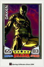 2011 Topps Marvel Universe Hero Attax Collectors Card Mirror Foil #31 Daken