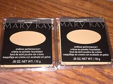 Lot 2 Mary Kay Cream Creme-to-Powder IVORY 1.0 FASTSHIP