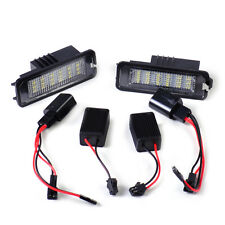 For Volkswagen EOS GOLF PASSAT CC POLO New BEETLE LED Number License Plate Light