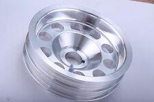 Impreza Turbo 01-09 STI WRX Aleación de aluminio ligero Manivela Polea