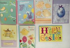Lot Of 7 Handmade Easter Cards, Embellished, 2-D Quality Paper Craft New