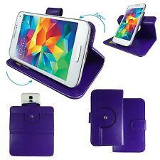 Handy Schutzhülle - TrekStor WinPhone 4.7 HD Case Hülle Tasche 360° Lila S