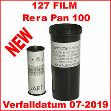 127 Film Rera Pan 100  127, Spool, S/W Negativfilm, Black & white!!