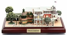 NEW Disney Parks Main Street Plaza Ice Cream Parlor Olszewski Figure Miniature