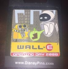 Disney Pin Walle Wall E And Eve Opening Day 2008 Le Pin New York Nyc Rare